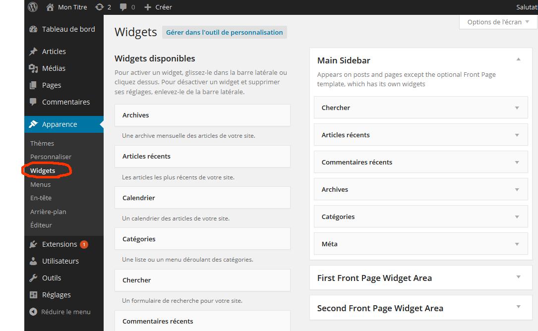 explications wordpress